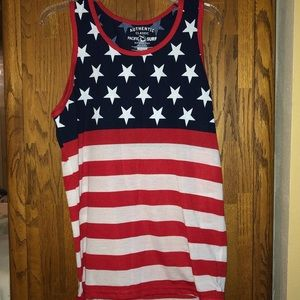 Other - American flag tank